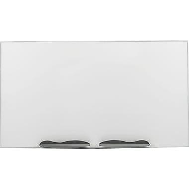 Balt® Best-Rite™ Low Profile Porcelain Markerboard, Silver, 48