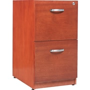Alera™ Verona Veneer Pedestal File Cabinet With 2 Drawer, 28 1/2H x 15 1/4W, Cherry
