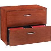 Alera™ Verona Veneer File Cabinet, 29 1/2H x 35 1/2W x 22D, Cherry