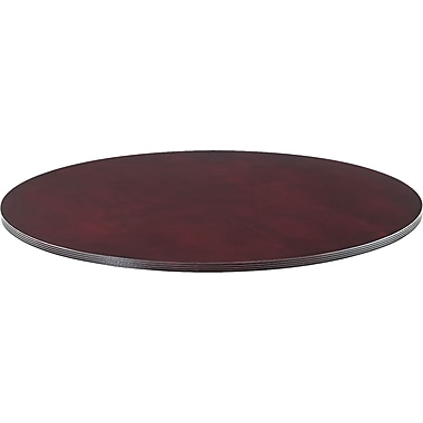 Alera™ Verona Veneer Series 1 1/4in.H x 47 1/4in.(Dia) Round Meeting Table Top, Mahogany