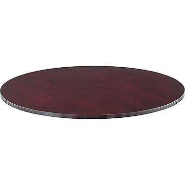 Alera™ Verona Veneer Series 1 1/4in.H x 47 1/4in.(Dia) Round Meeting Table Top, Mahogany