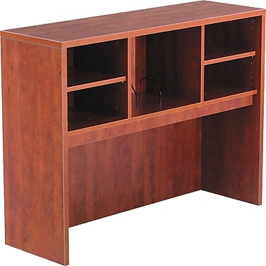 Alera™ Valencia Open Storage Hutch, 35 1/2in.H x 47in.W x 15in.D, Medium Cherry