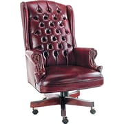 Alera® Traditional Series Vinyl Management, Oxblood Burgundy