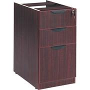 Alera™ Valencia Box/Box/File Full Pedestal, 28 1/2H x 15 5/8W x 22 7/8D, Mahogany