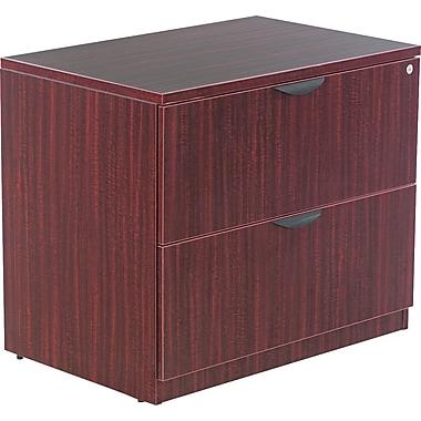 Alera™ Valencia File Cabinet, 29 1/2in.H x 34in.W x 22 3/4in.D, Mahogany