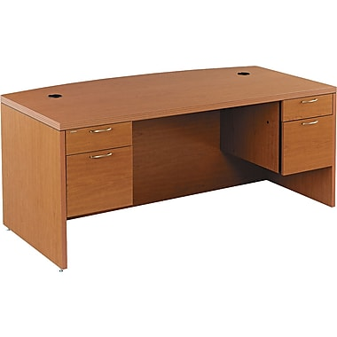 HON® Valido™ 11500 Series Bow Top Double Pedestal Desk, 29 1/2in.H x 72in.W x 36in.D