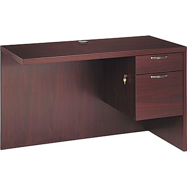 HON® Valido™ 11500 Series Return Workstation, 29 1/2in.H x 48in.W x 24in.D, Mahogany