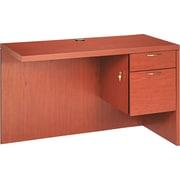 HON® Valido™ 11500 Series Return Workstation, 29 1/2H x 48W x 24D, Bourbon Cherry