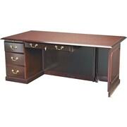 DMI™ Governors Traditional Laminate Desk, 30H x 72W x 36D, Mahogany