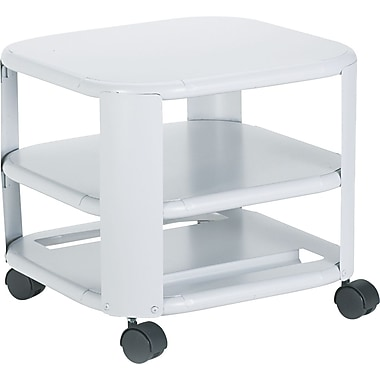 Master® Mead-Hatcher® Mobile Printer Stand, Heavy-Gauge, 14.8in.H x 17.8in.W x 17.8in.D