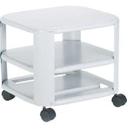 Master® Mead-Hatcher® Mobile Printer Stand, Heavy-Gauge, 14.8H x 17.8W x 17.8D
