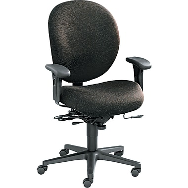 HON® Mid-Back Managerial Chair with Seat Glide, Gray