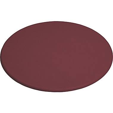 OfficeWorks Round Table Top - Mahogany - 48in.