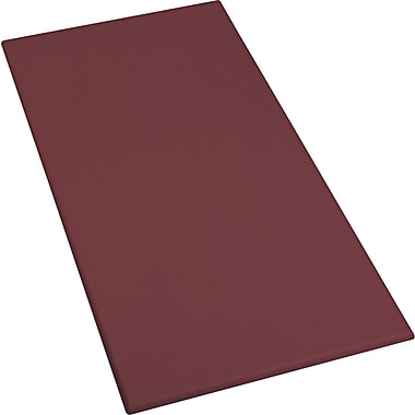 OfficeWorks Rectangular Table Top - Mahogany - 36