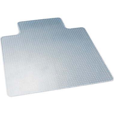deflect-o® DuraMat® Chair Mat For Low Pile Carpeting, Clear, 53''L x 45''W