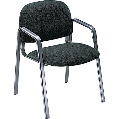 HON® Solutions Seating® 4000 Olefin Fabric Leg Base Guest Chair, Black