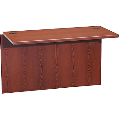 HON® 10700 Series Prestigious Wood Laminate Bridge, 29 1/2in.H x 47in.W x 24in.D, Henna Cherry