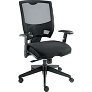 Alera Epoch Mesh Managers Office Chair, Adjustable Arms, Black (ALEEP42ME10B)