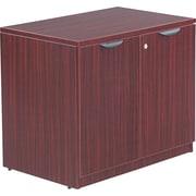 Alera™ Valencia Storage Cabinet, 29 1/2H x 34W x 22 3/4D, Mahogany