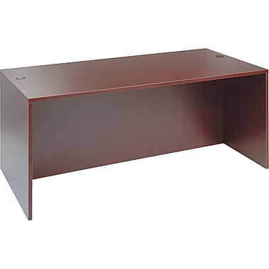 Straight Front Desk Shell, 29 1/2in.H x 71in.W x 35 1/2in.D