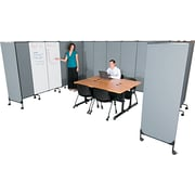 Balt ® Best-Rite GreatDivide Fabric Add On Panel, Gray, 72H x 5' 4W x 3D