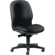 HON® Sensible Seating® High-Back Fabric Chair, Black