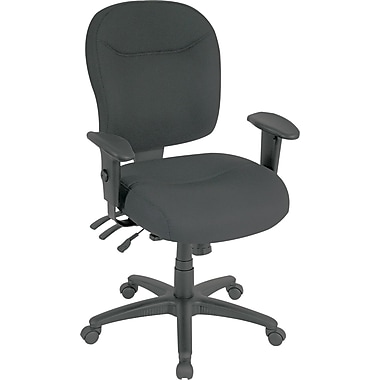 Alera Wrigley Series Multifunction Seating, 100% Polyester, General Office, Black