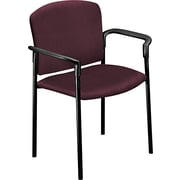 HON® 4070 Pagoda® Stacking Guest Chair, Burgundy