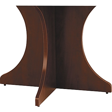 Alera™ Valencia Series 28 1/2in.H x 29 1/2in.W x 15in.D Sculpted Base Kit, Mahogany
