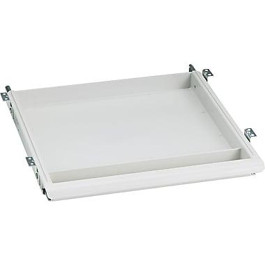 Iceberg® Aspira™ Modular Utility Drawer, 1 1/2in.H x 14in.W x 14 1/2in.D, Platinum