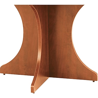 Alera™ Valencia Series 28 1/2in.H x 29 1/2in.W x 15in.D Sculpted Base Kit, Medium Cherry