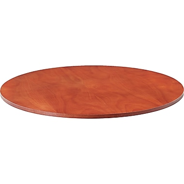 Alera™ Verona Veneer Series 1 1/4in.H x 47 1/4in.(Dia) Round Meeting Table Top, Cherry