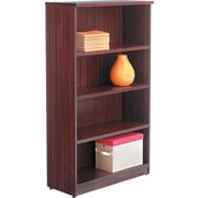 "Alera™ Valencia Bookcase Storage System, 55""H x 31 3/4""W x 12 1/2""D, Mahogany"