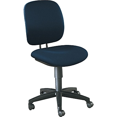HON® Comfortask® Fabric Swivel Task Chair, Blue