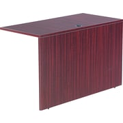 Alera™ Valencia Reversible Return/Bridge Shell, 29 1/2H x 47 1/4W x 23 5/8D, Mahogany