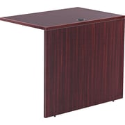 Alera™ Valencia Reversible Return/Bridge Shell, 29 1/2H x 35W x 23 5/8D, Mahogany