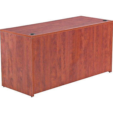 Alera™ Valencia Credenza Shell, 29 1/2in.H x 59 1/8in.W x 23 5/8in.D, Medium Cherry