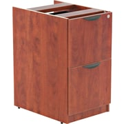 Alera™ Valencia File/File Full Pedestal, 28 1/2H x 15 5/8W x 22 7/8D, Medium cherry