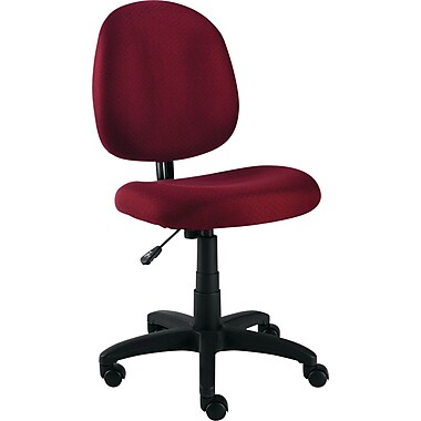 Alera™ Essentia Fabric Swivel Task Chair, Burgundy