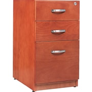 Alera™ Verona Veneer Pedestal File Cabinet With 1 Drawer, 28 1/2H x 15 1/4W, Cherry