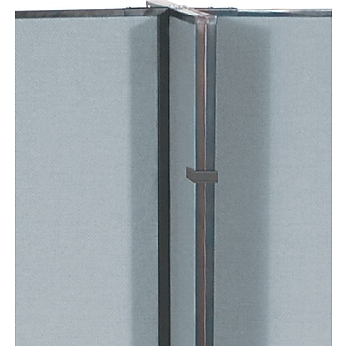 Balt® Best-Rite™ GreatDivide™ Optional Ganging Device, Black, 8'H x 5' 4in.W x 3in.D