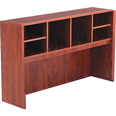 Alera™ Valencia Open Storage Hutch, 35 1/2in.H x 58 7/8in.W x 15in.D, Medium Cherry