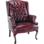 Alera Traditional Series Vinyl Management, Oxblood