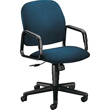 HON ® 4000 Solutions Seating ® High-Back Fabric Manager Swivel/Tilt Chair, Blue