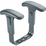 Safco® Optional Height-Adjustable T-Pad Arms, Black