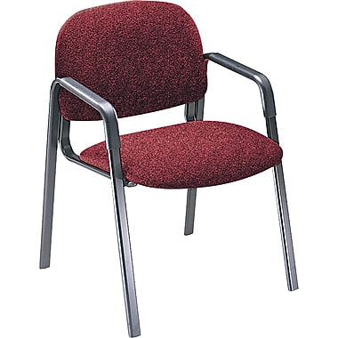 HON® Solutions Seating® 4000 Olefin Fabric Leg Base Guest Chair, Burgundy