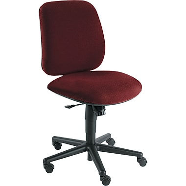 HON® 7700 Swivel With Mid Range Knee-Tilt Task Chair, Burgundy