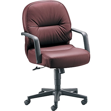 HON H2092HSR69T Manager's Chair, Burgundy