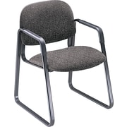HON® Solutions Seating® Fabric Sled Base Guest Chair, Gray (HON4008AB12T)