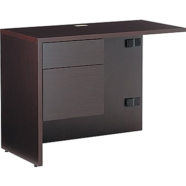 Global® Genoa™ in.Lin. Workstation Return, Left, 29in.H x 40in.W x 20in.D